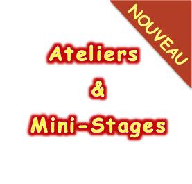 Nouveautés rentrée 2019-2020 : Ateliers et Stages !